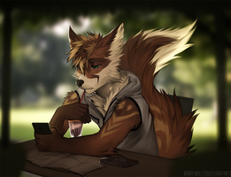 lowri by AngiewolfArt