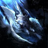 Fallen angel by AngiewolfArt