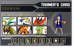 Pokemon: Zekrom's Trainer Card by Muruni