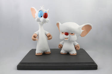 Pinky and the Brain Munnys by IncredibleCreature