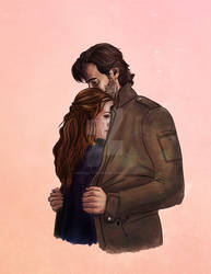 a jacket for two // kabby // the 100