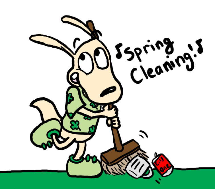 March cleaning w Rocko by dawny