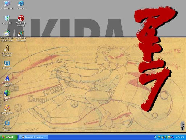 Dec. Wallpaper - Akira by dawny