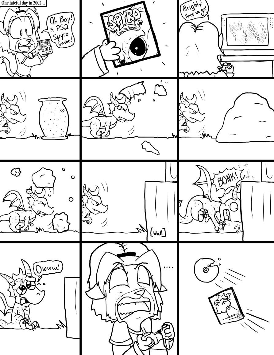 Spyro: Enter the Fail by dawny