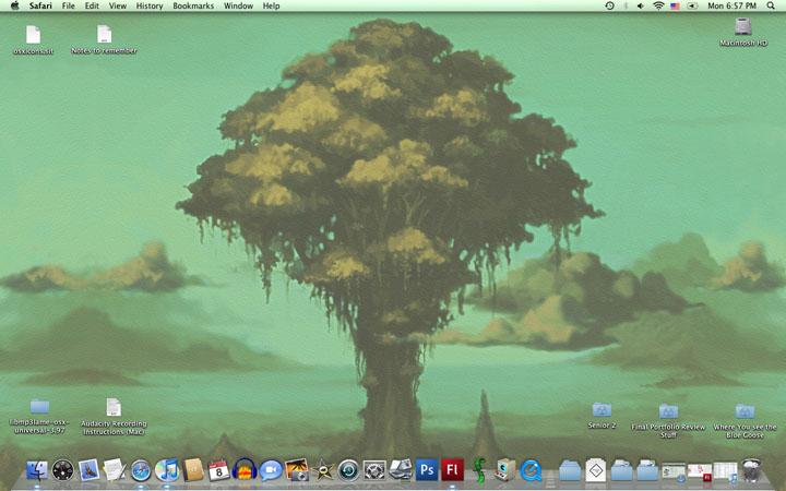 Mar '10 Desktop by dawny