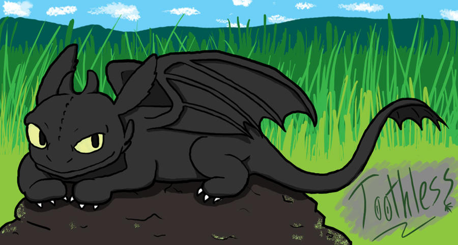 Nightfury - Toothless by dawny