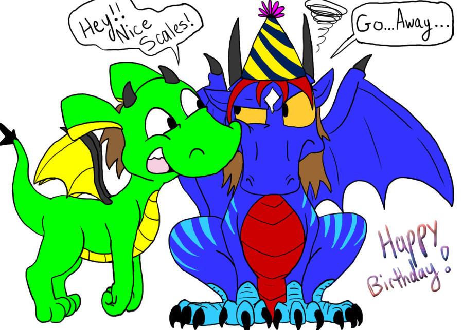 Happy Bday Ravenfire by dawny