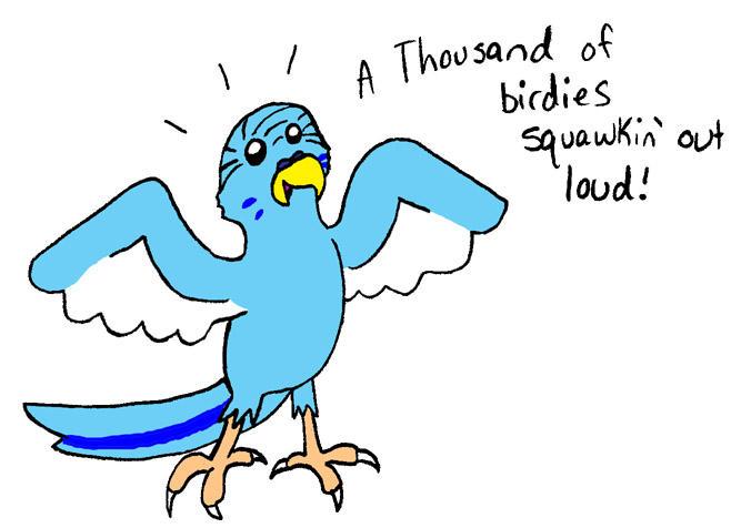 A thousand o birdies by dawny