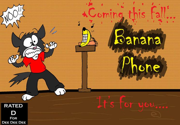 Banana Phone the Movie? by dawny