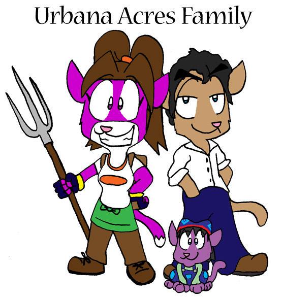 Urbana Acres Family by dawny