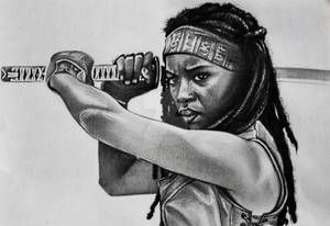 The Walking Dead - Michonne