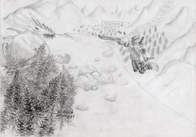 Demon hunter by Undead-Geologist
