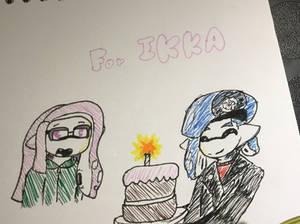Happy Birthday Ikkachu!