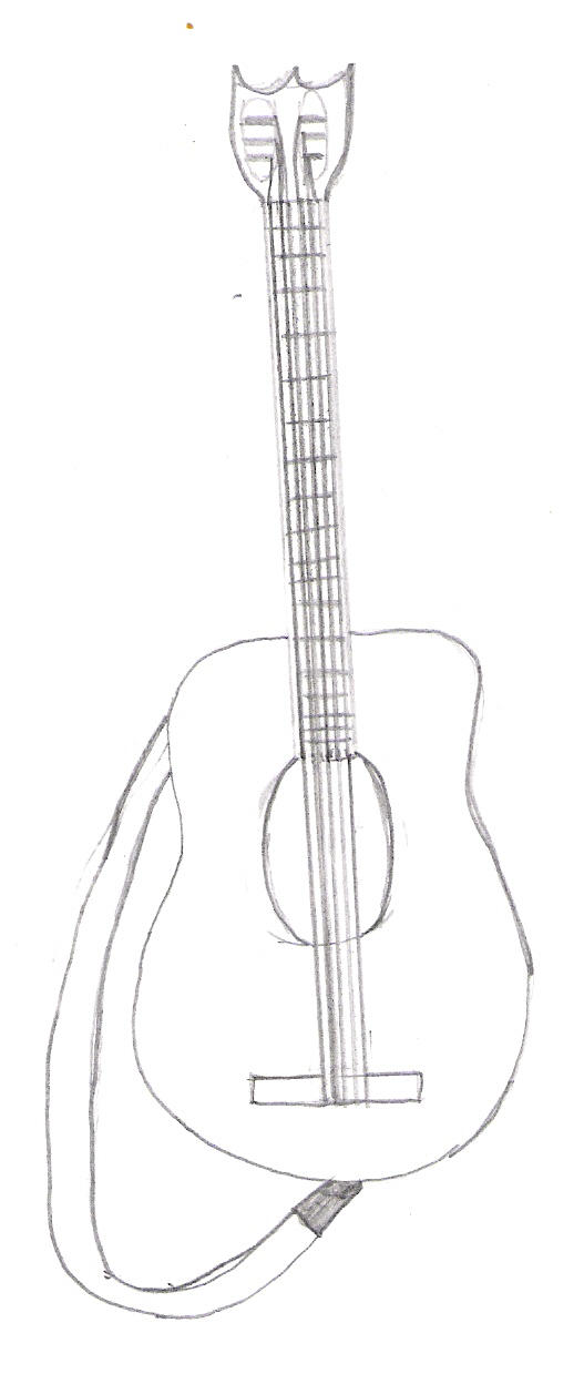 Bad Guitar Drawing By Mcrox On Deviantart