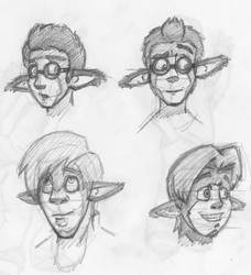 Some Gayan Sketches by Kineticboy2001