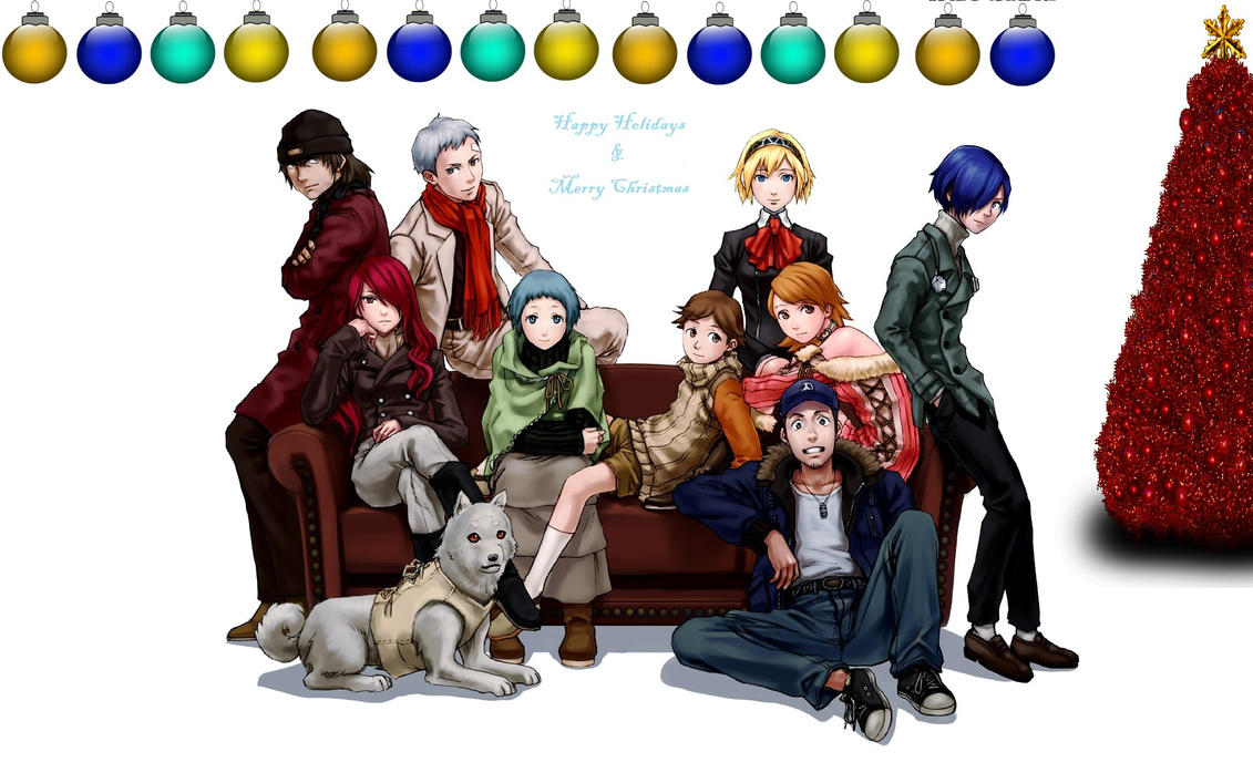 Merry Christmas from Persona 3 by DarkMirrorEmo23 on DeviantArt