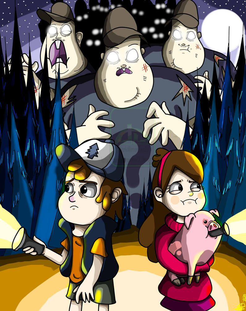 Gravity Falls : Night of the Living Soos by DarkMirrorEmo23