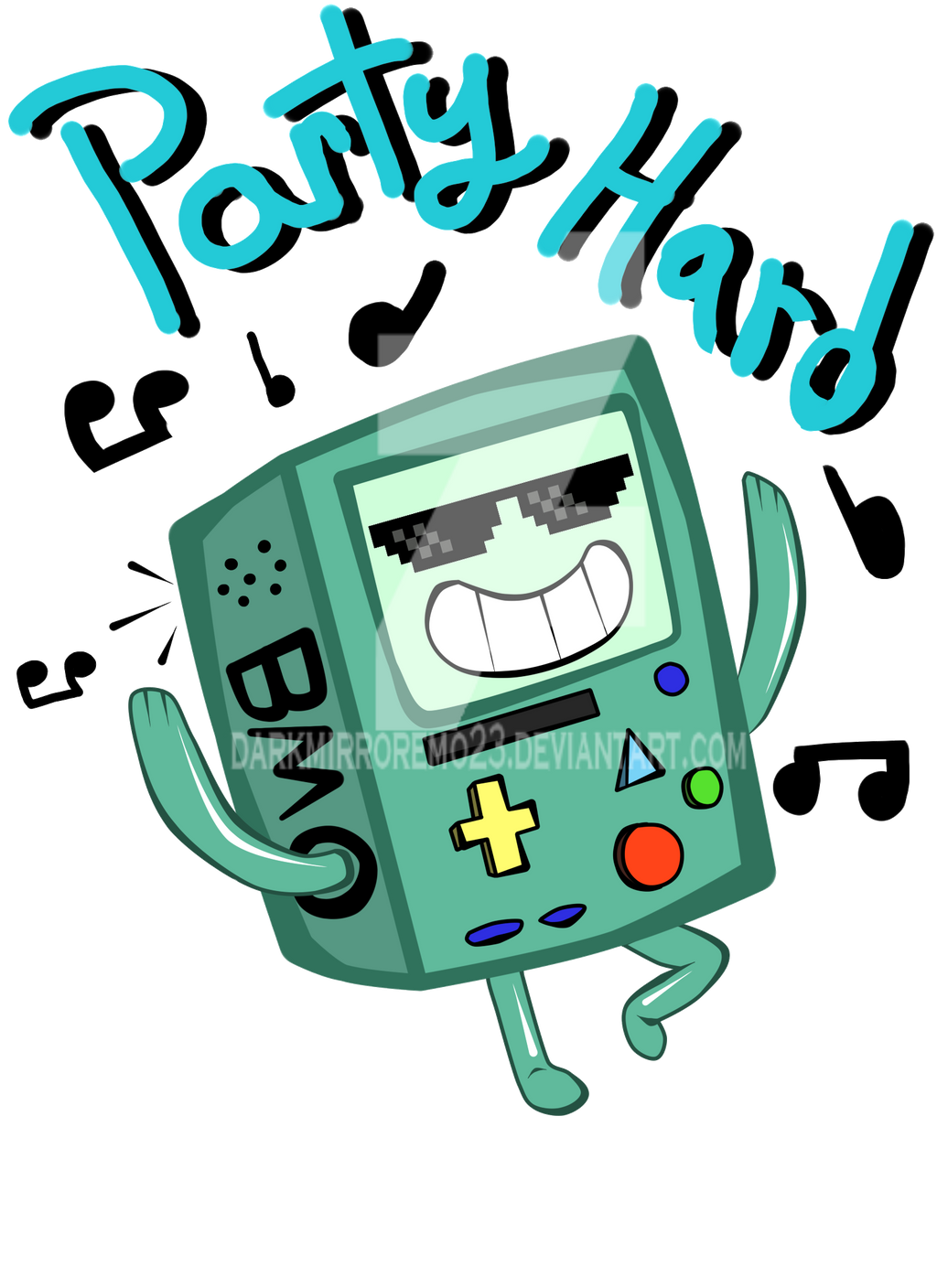 Adventure Time: Bmo by DarkMirrorEmo23