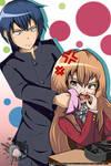 Toradora: Ryuuji and Aisaka