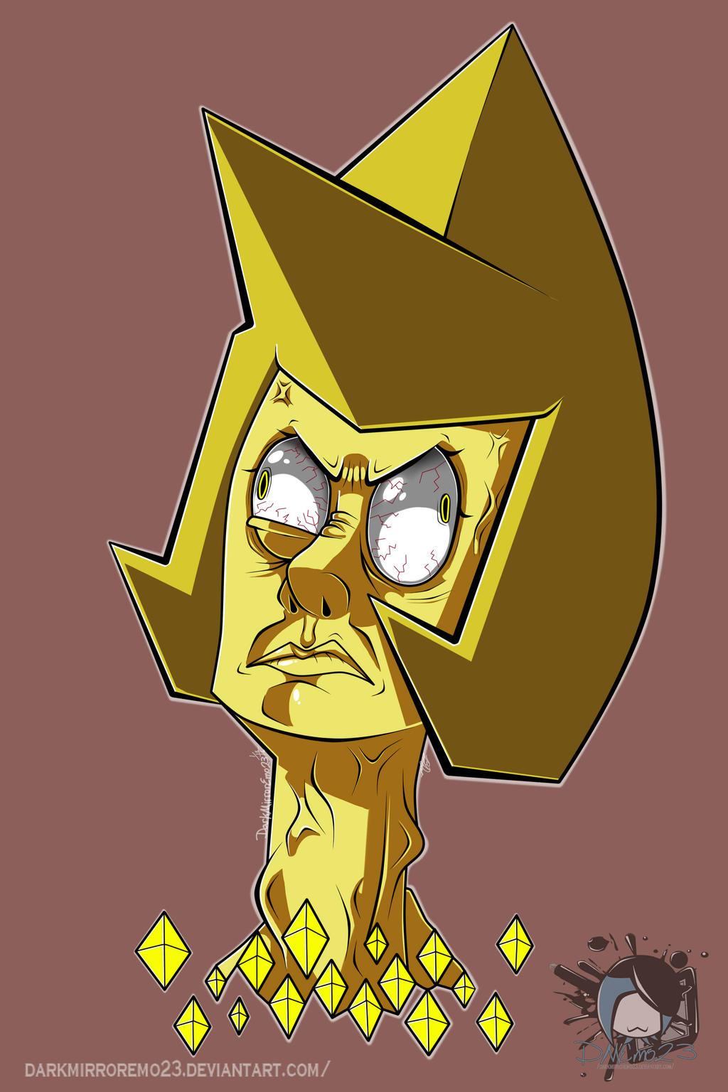 Steven Universe: Yellow Diamond by DarkMirrorEmo23