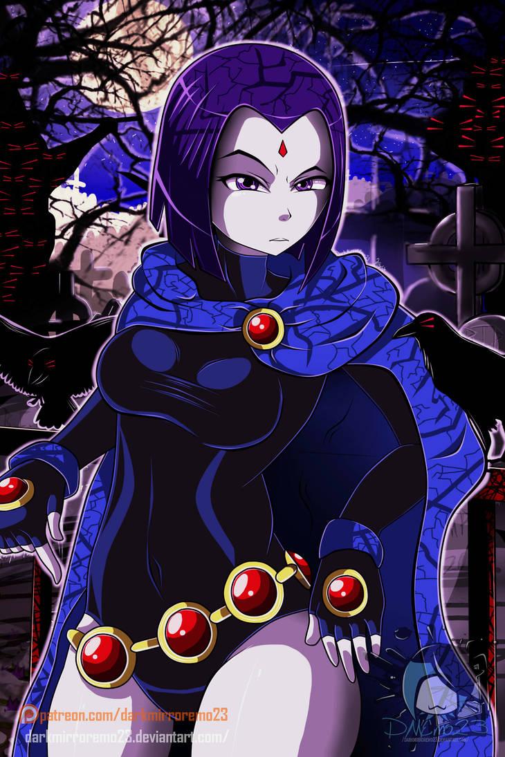Teen Titans Raven By Darkmirroremo23 On Deviantart-1886