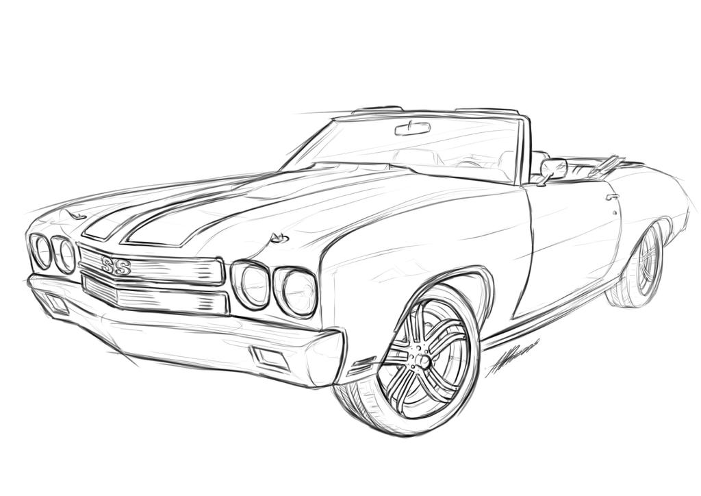 list of synonyms and antonyms of the word  67 chevelle drawing