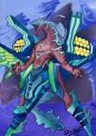 Blue Storm Dragon Malestorm