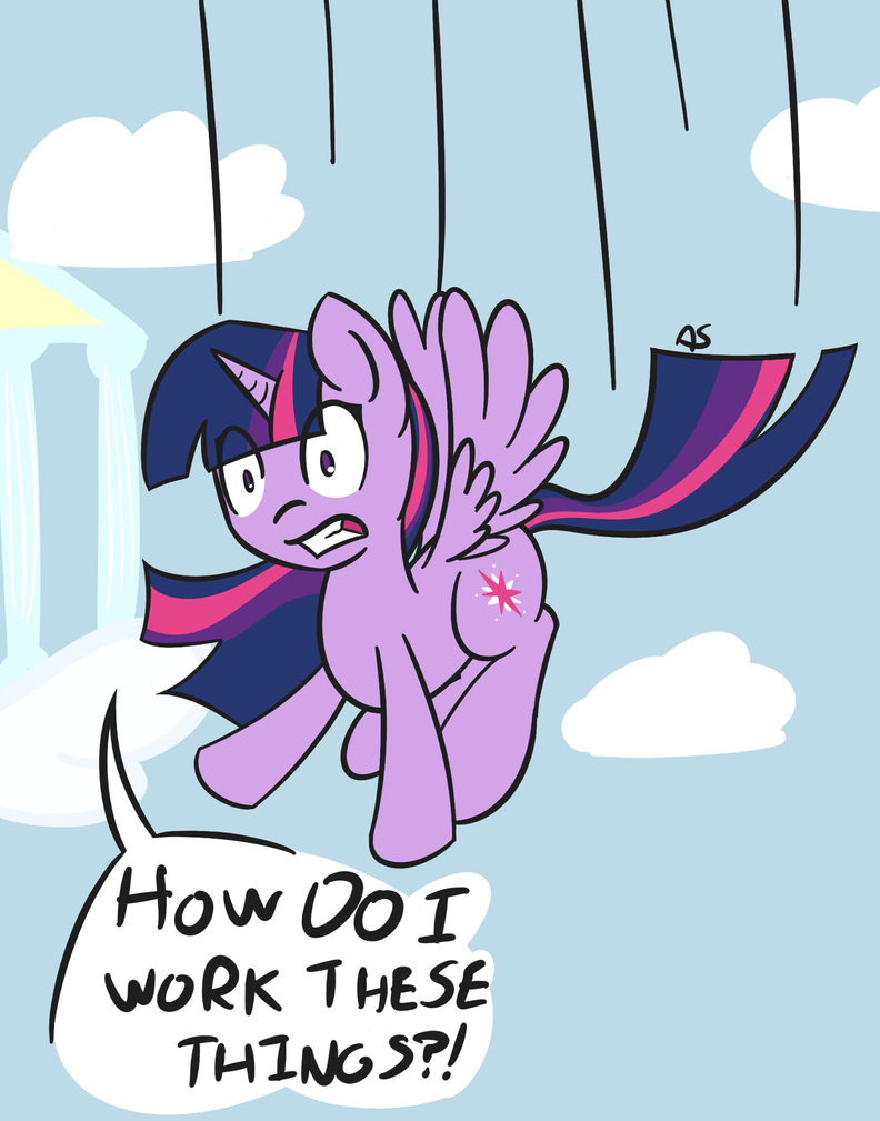 Mid-Flight Difficulties by adamscage