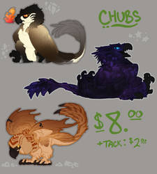 $8 Chubs-- Get Your Chub Here! CLOSED by Cicatrixes