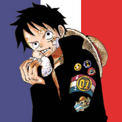 Luffy prays for Paris