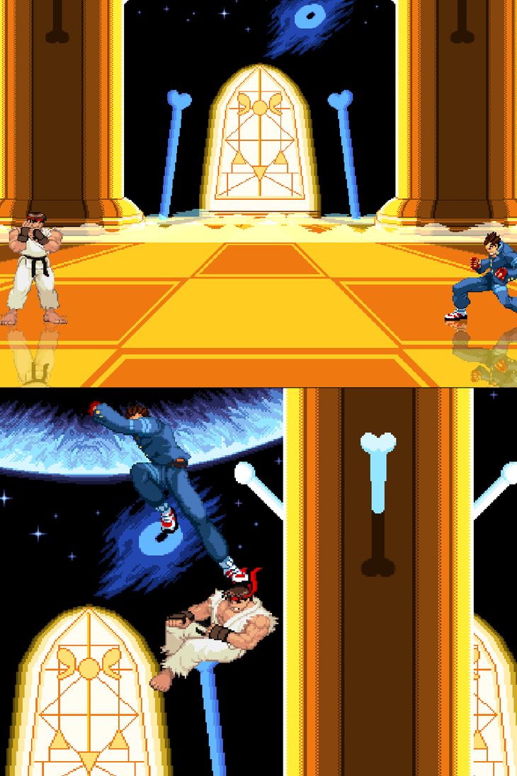 [Mugen Stage] Judgement Hall [Collab] by JordanoDaMano