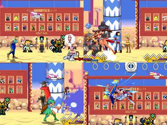 [Mugen Stage] Mirage Saloon *Updated* by JordanoDaMano