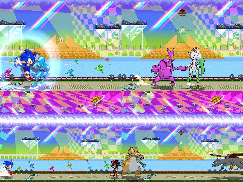 [Mugen Stage] Prism Relic by JordanoDaMano