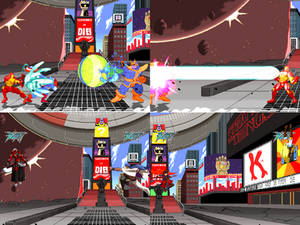 [Mugen Stage] Avengers Infinity War Times Square