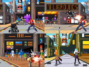 [Mugen Stage] Newgrounds City