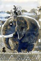 elephant by toon13