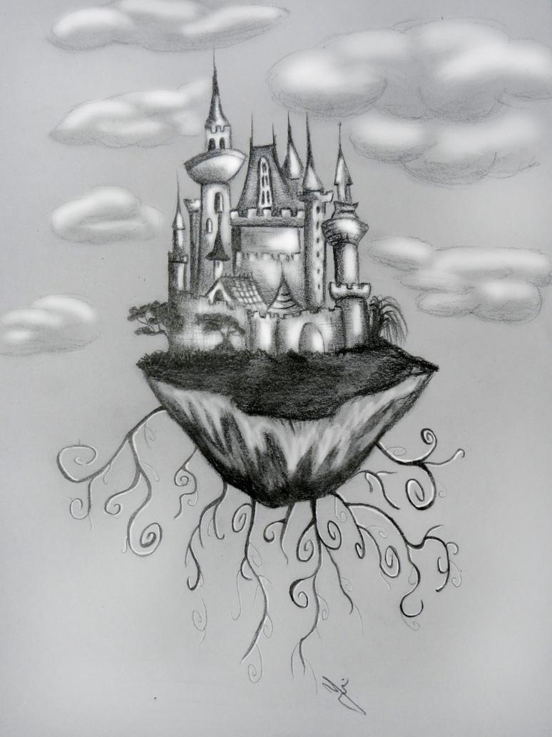 Castle in the sky by yvonne-marry