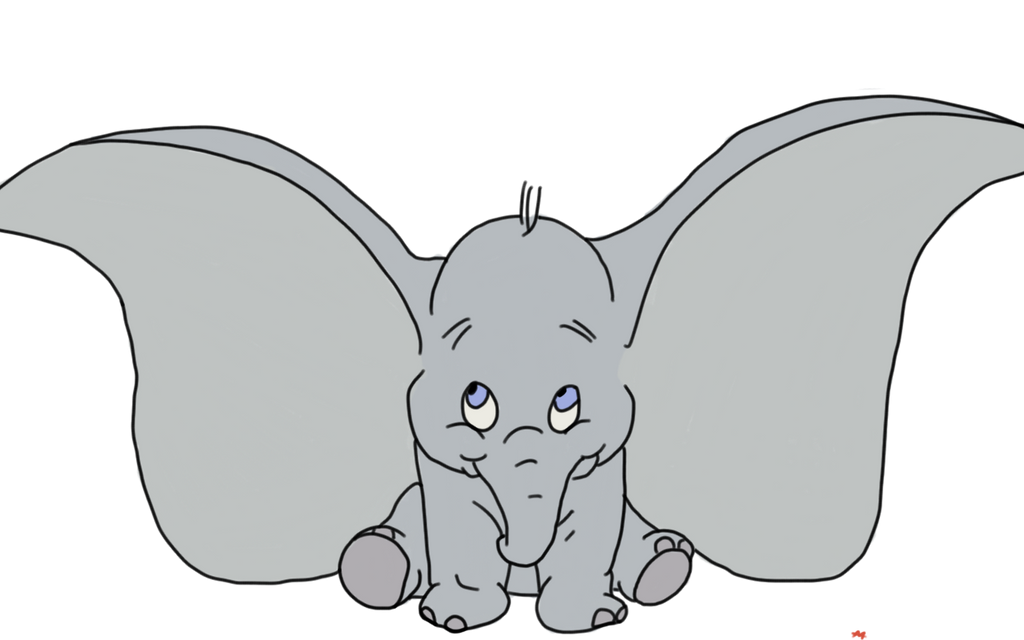 quick dumbo drawing by megalomaniacaly on deviantart