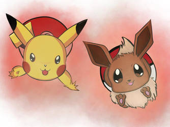 Let's Go Pikachu and Eevee! by Megalomaniacaly