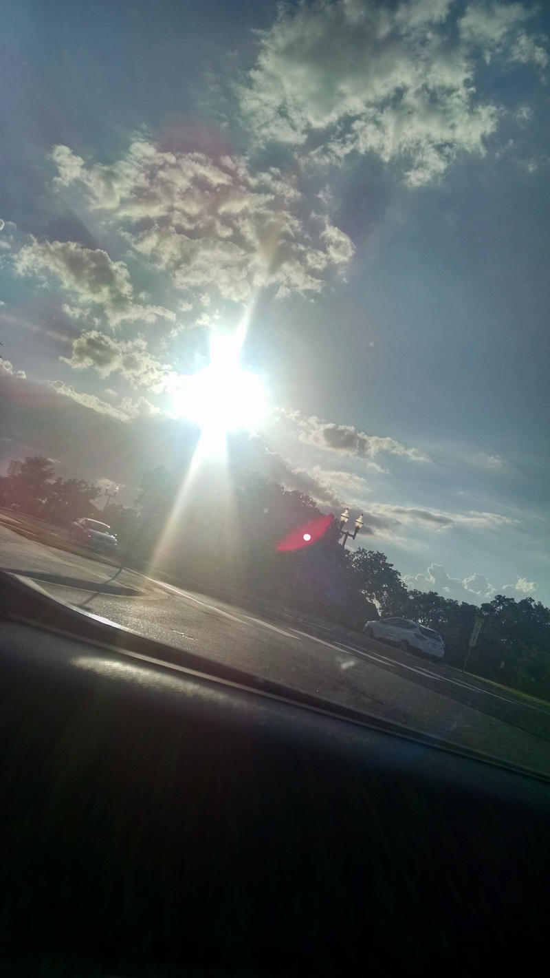 caught in the sun rays by VioletTutu