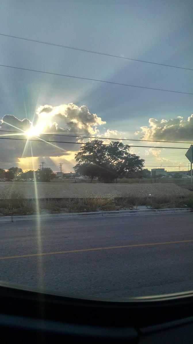 sun rays by VioletTutu