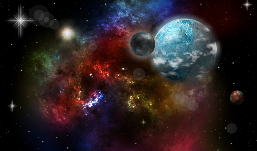 Fractal Space by PossumRoadkill on deviantART  Fractals In Space