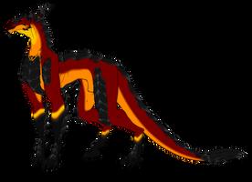 Magma Dragon by Sunkaro