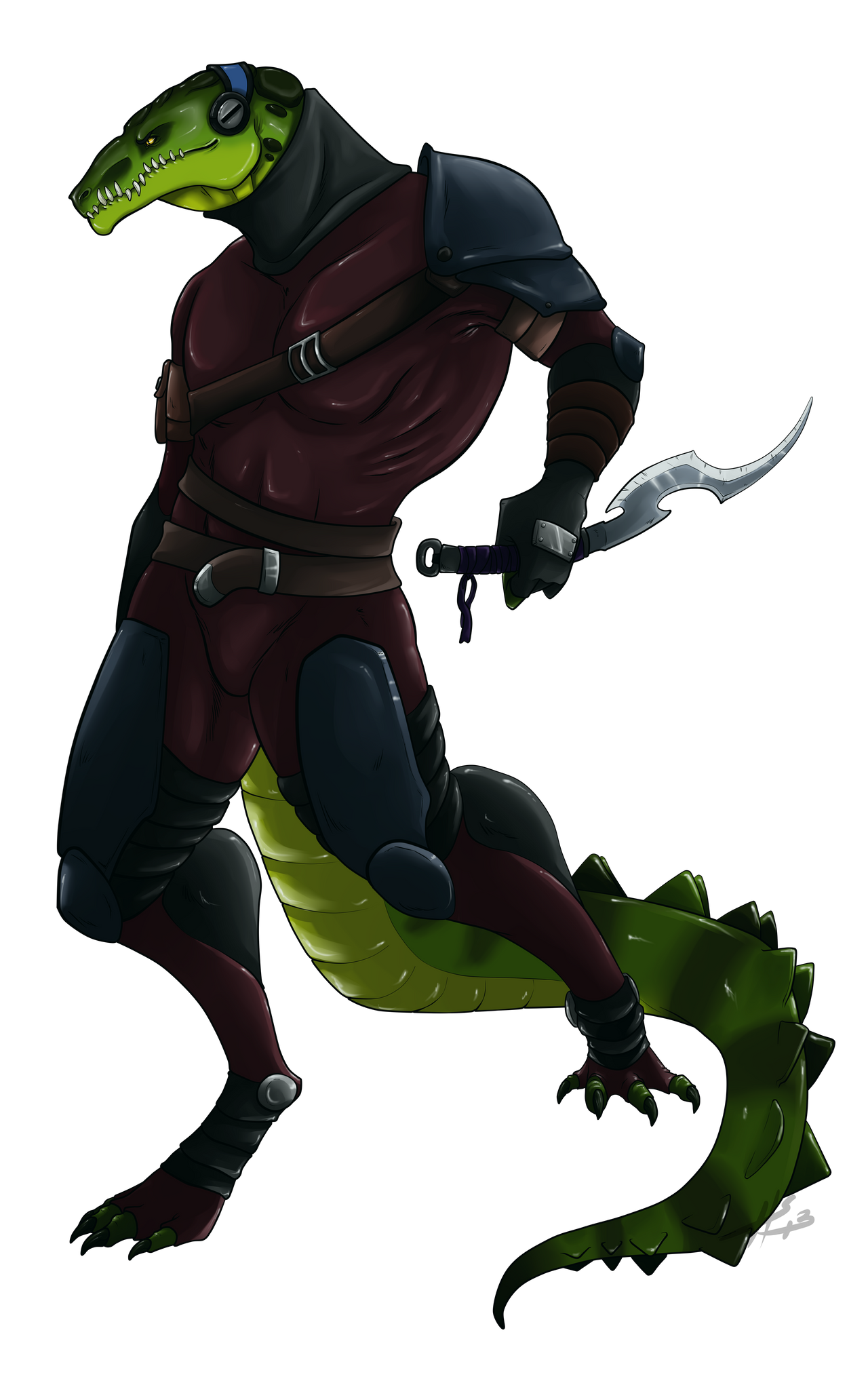 Crocodile Assassin by Sunkaro