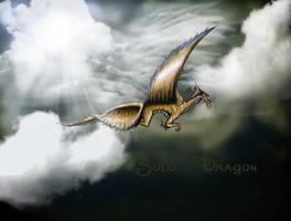 Gold Dragon by Silinde-Ar-Feiniel