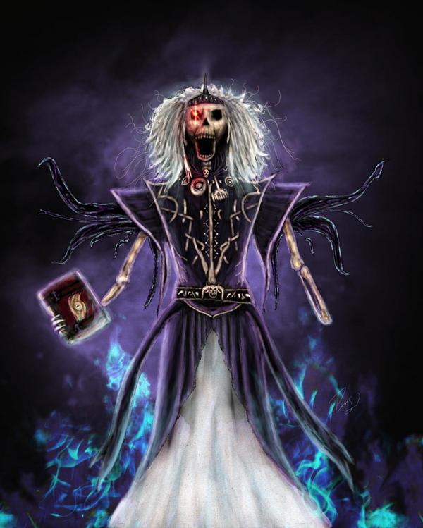 Vecna, deity of secrets by Silinde-Ar-Feiniel
