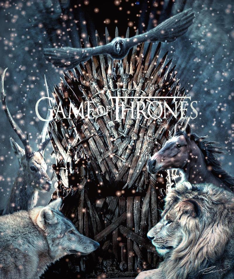 Game of Thrones Alt. Book Cover by Silinde-Ar-Feiniel