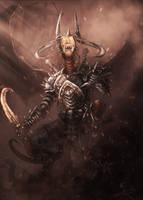 Collab: Demon Warlord by Silinde-Ar-Feiniel