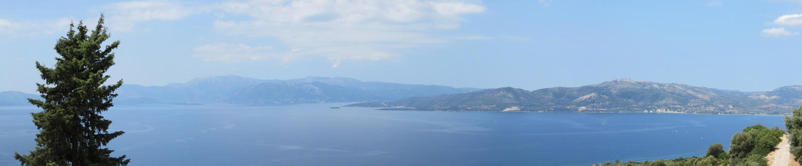 panorama from st.Dimitrios monastery near Palairos by Silinde-Ar-Feiniel