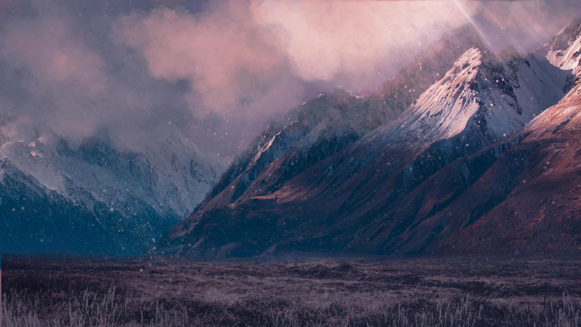 Snow mountains by Silinde-Ar-Feiniel